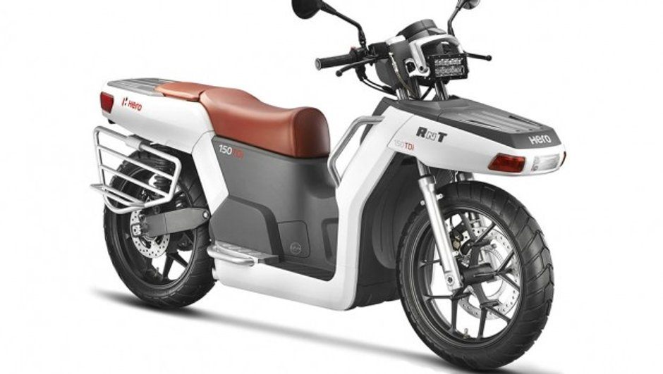 Salon de New Delhi 2014 : Un concept de scooter Hero sera présenté