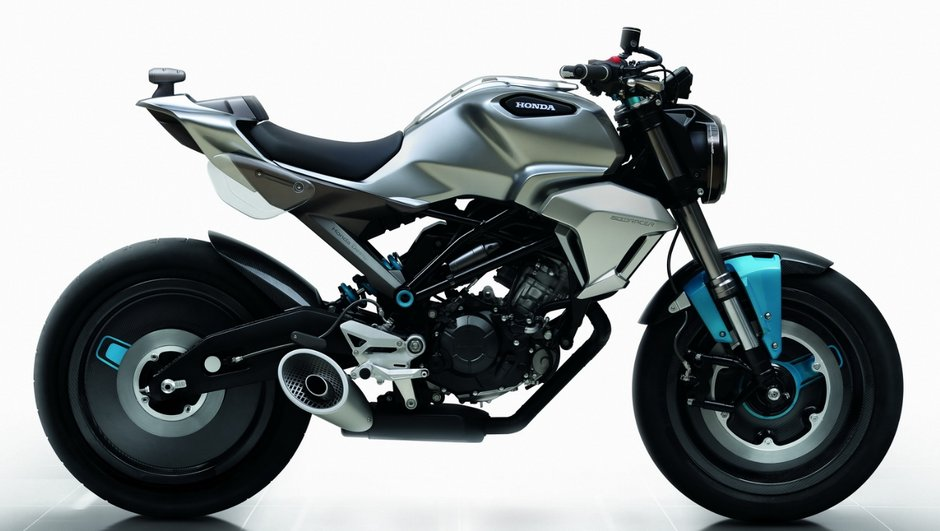 Honda révèle un concept 150SS Racer