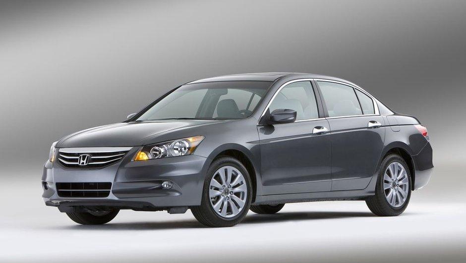 Honda Accord 2010 : retouches pour la berline n°1 aux Etats-Unis