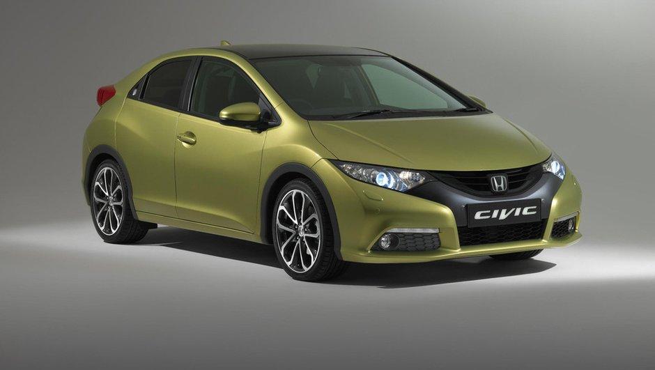 Salon de Francfort 2011 : nouvelle Honda Civic, la même boursouflée