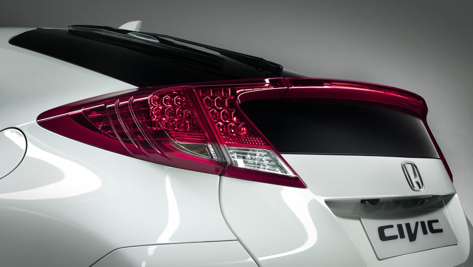 Honda Civic 2012 : nouvelle photo teaser avant Francfort