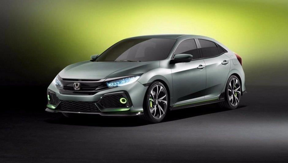 Salon Genève 2016 : Honda Civic Hatchback Concept, la compacte future génération