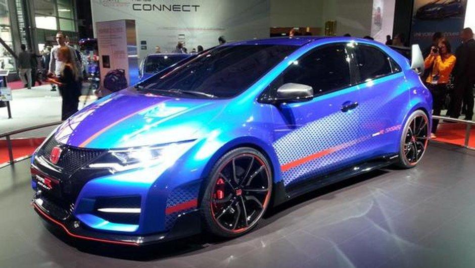 Mondial de l'Automobile 2014 : Honda Civic Type R Concept, puissance toute !