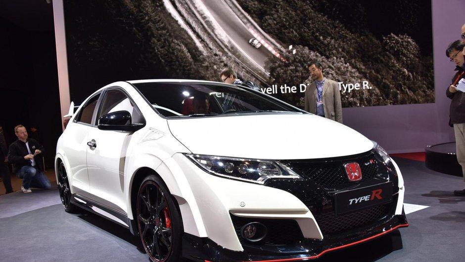 Salon de Genève 2015 : la Honda Civic Type R pointe à 310 chevaux (+ vidéo)