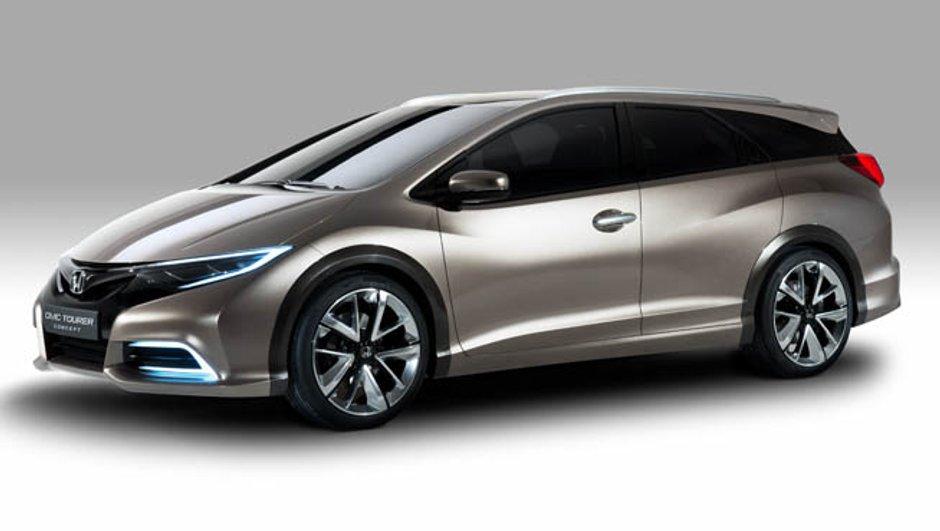 Salon de Genève 2013 : Honda Civic Wagon, le retour du break nippon