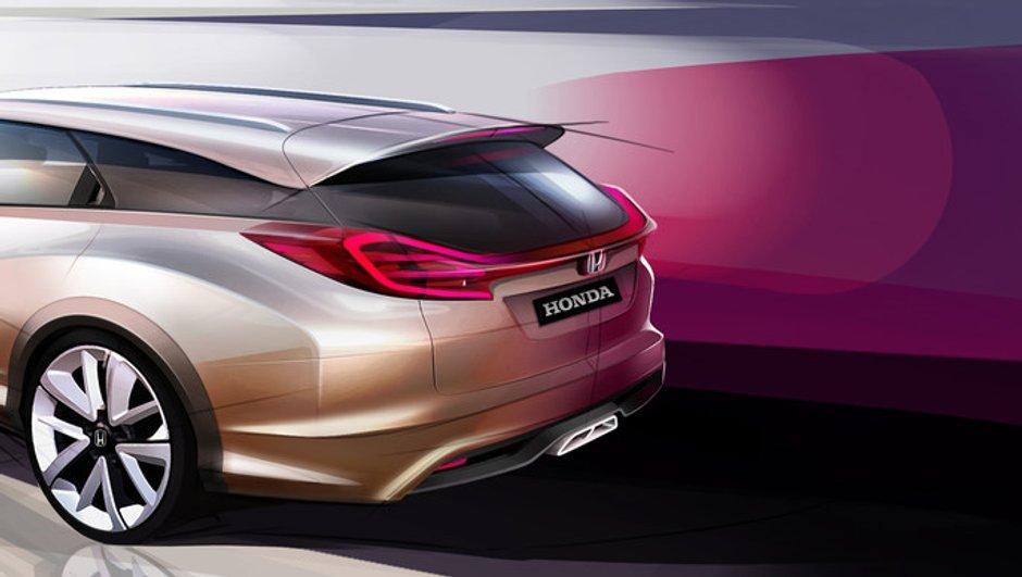 Salon de Genève 2013 : Honda Civic Wagon Concept, faire le break