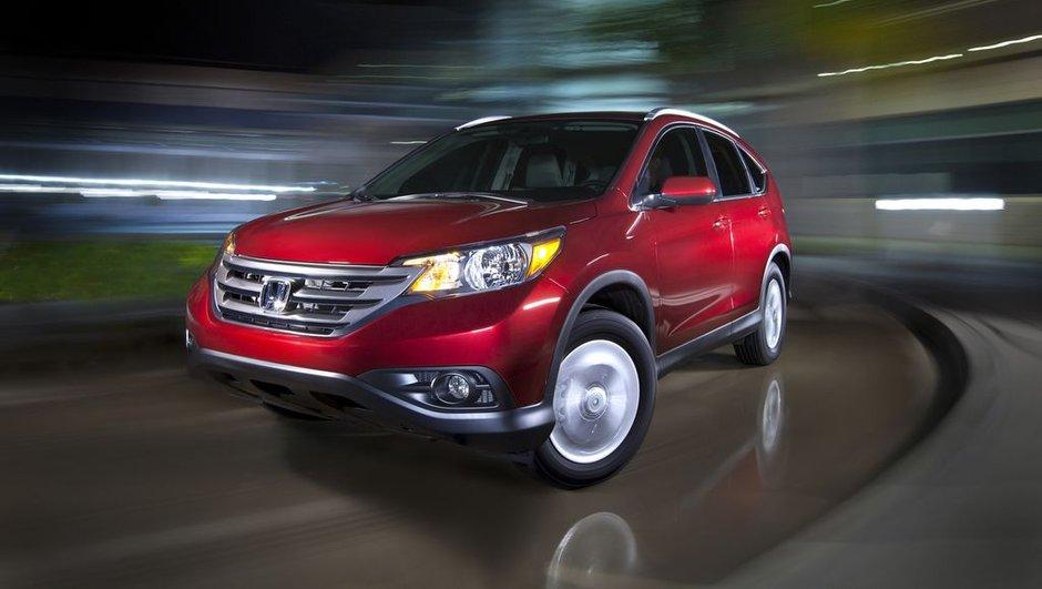 Salon de Los Angeles 2011 : nouveau Honda CR-V
