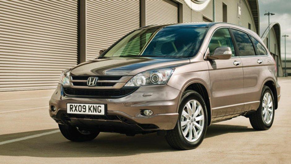 Le Honda CR-V va évoluer pour 2010