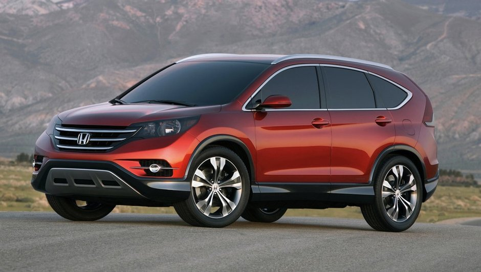 Honda CR-V Concept 2011 : origines en Accord