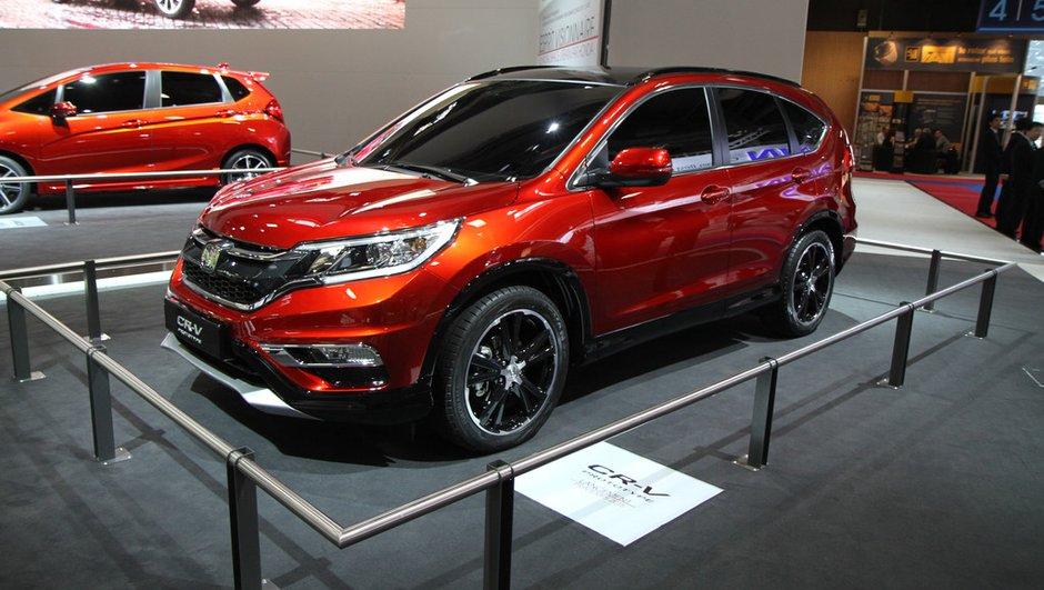 Mondial de l'Automobile 2014: nouveau Honda CR-V, un SUV plus moderne
