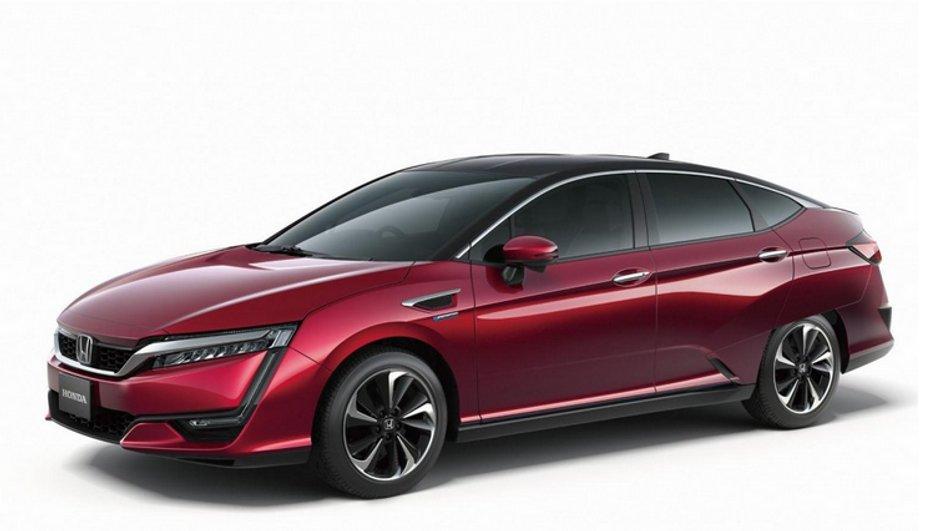 Honda FCV : l'autre voiture à hydrogène se dévoile