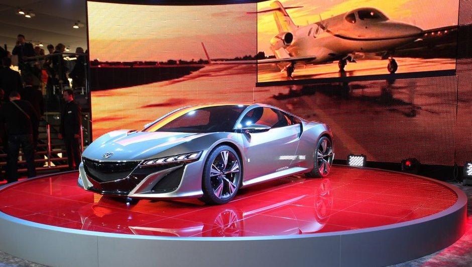 Salon de Genève 2012 : Honda NSX Concept, retour de la légende nipponne