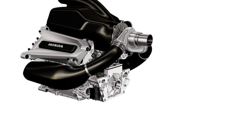 F1 2015 : premier cliché pour le nouveau moteur Honda !