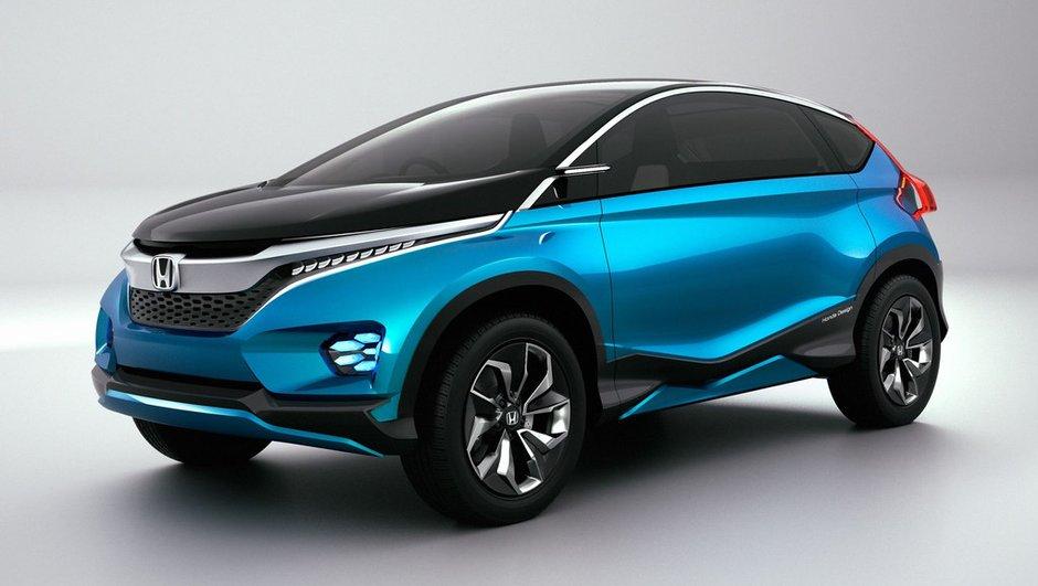 Salon de New Delhi 2014 : Honda Vision XS-1 Concept, un bel exercice sans suite