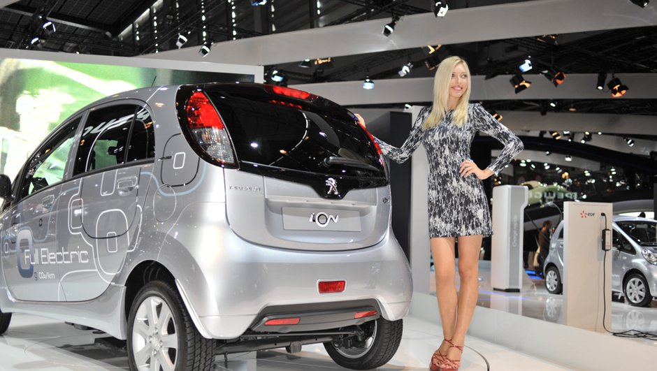 Peugeot iOn : La star électrique du Mondial de l'Auto ?