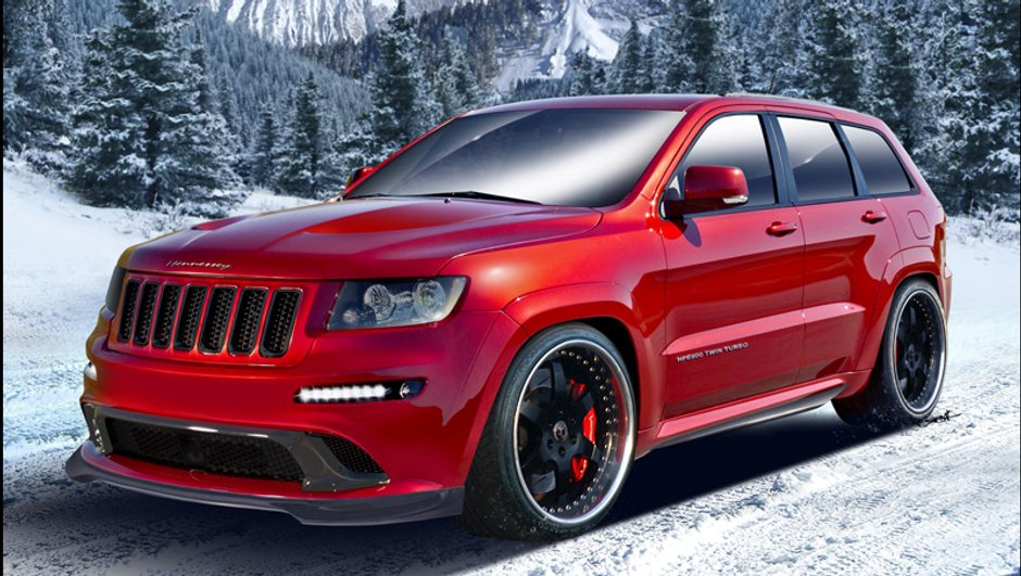 Un Jeep Grand Cherokee plus rapide qu'une Ferrari !