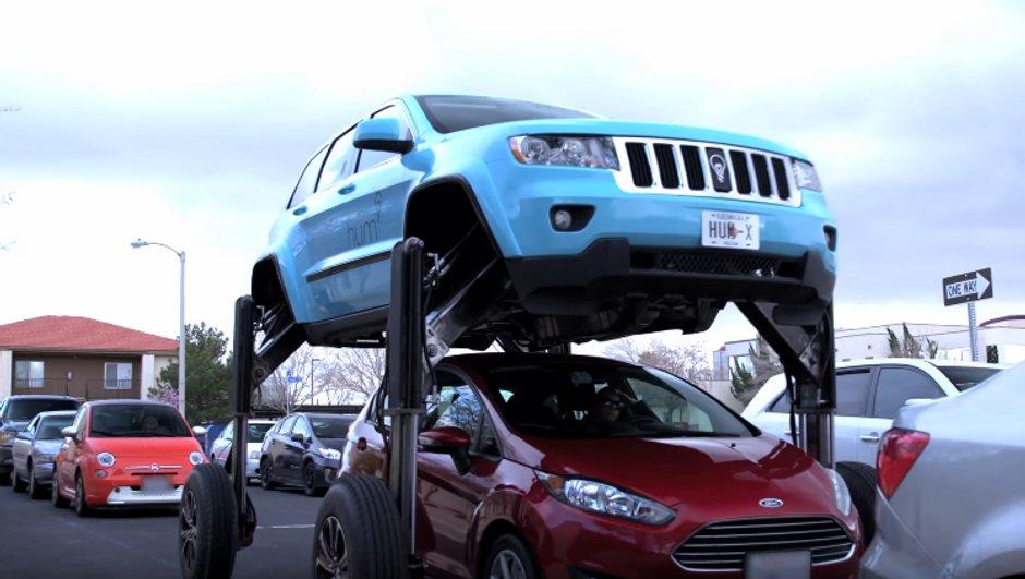 Insolite : Hum Rider, le SUV qui enjambe les bouchons !