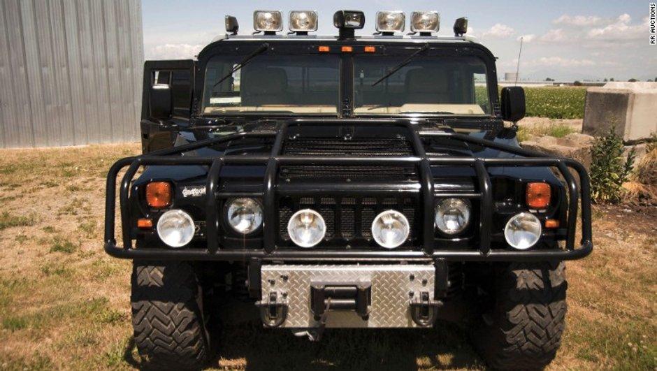 Insolite : le Hummer de Tupac vendu à 300.000 euros !