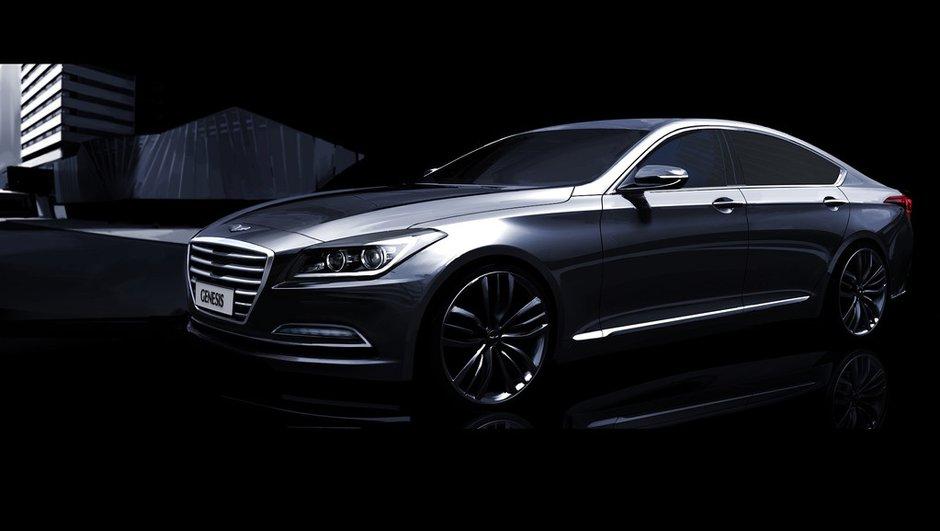 Hyundai Genesis 2014 : premières images officielles