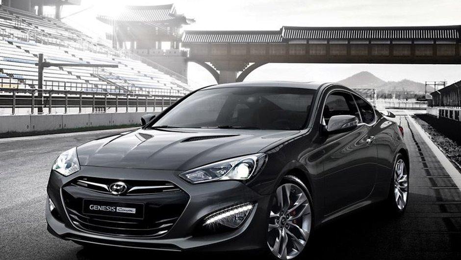 Hyundai Genesis Coupé 2012 : belle gueule et moteurs puissants