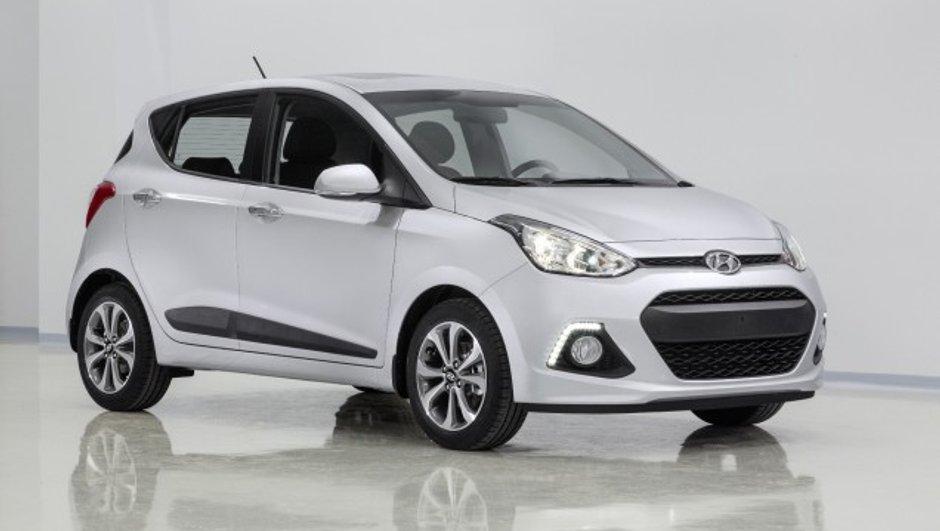 La nouvelle Hyundai i10 se dévoile en image