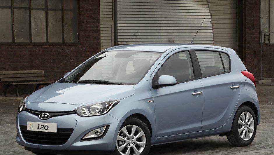 Salon de Genève 2012 : Hyundai i20 avec nouveau visage et moteurs frugaux