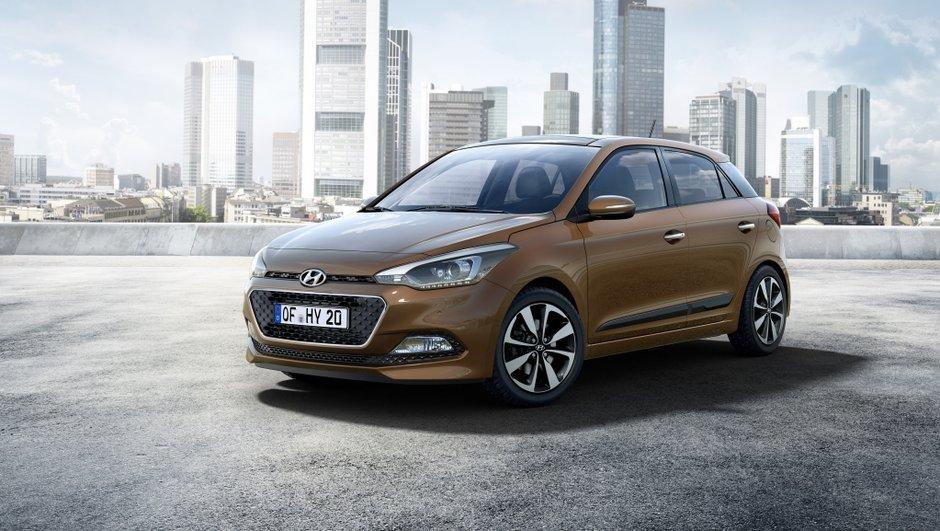 Nouvelle Hyundai i20 2015 : les premières photos et infos officielles