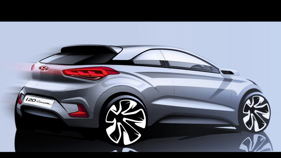 Hyundai i20 Coupé 2015 : une nouvelle 3 portes pour la citadine coréenne