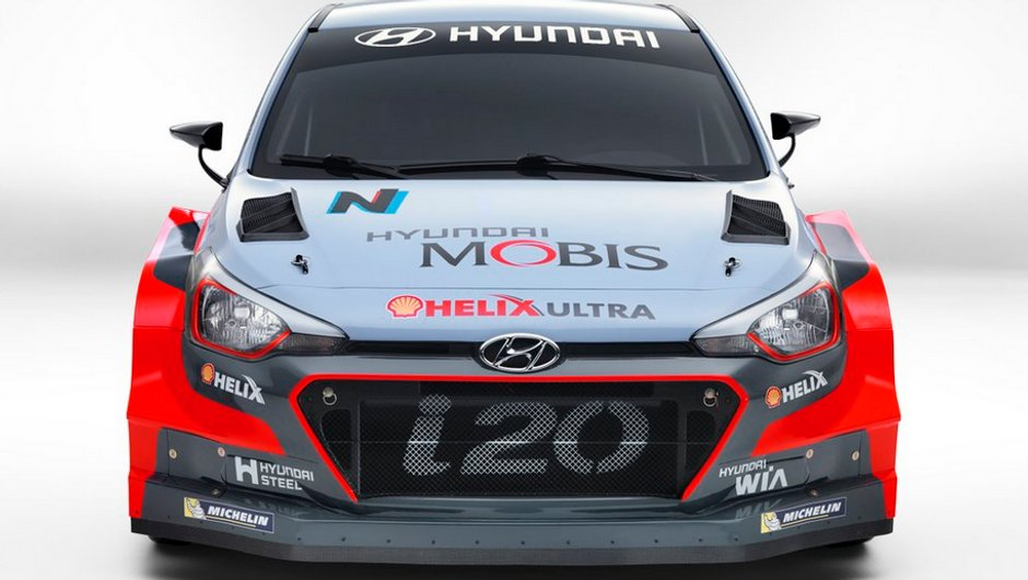 WRC : Hyundai dévoile la i20 pour la saison 2016