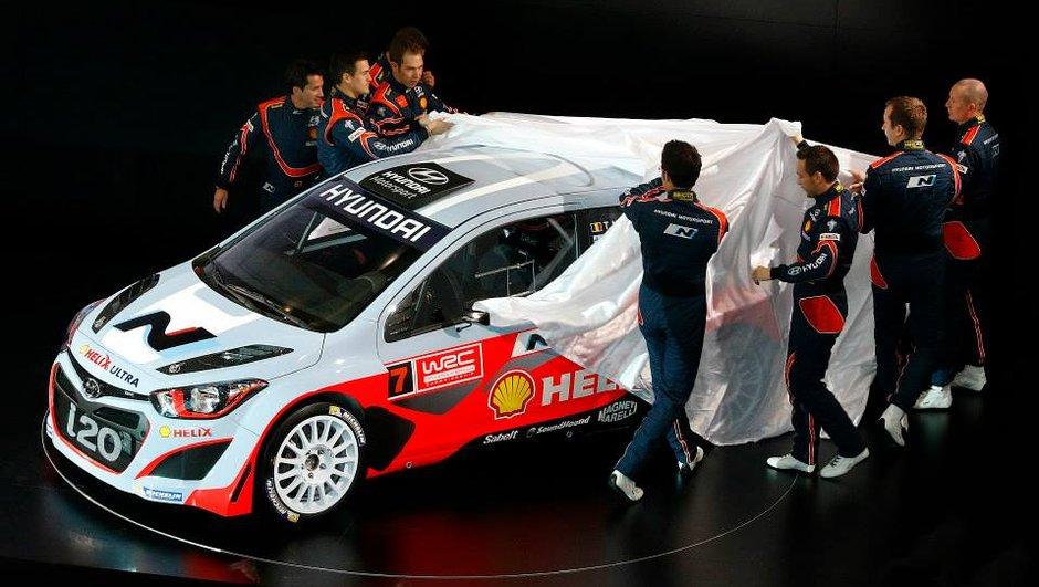 WRC 2014 : la nouvelle Hyundai i20 dévoilée