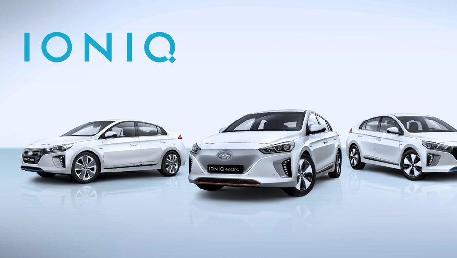 La Hyundai Ioniq dévoile ses moteurs avant le salon de Genève 2016