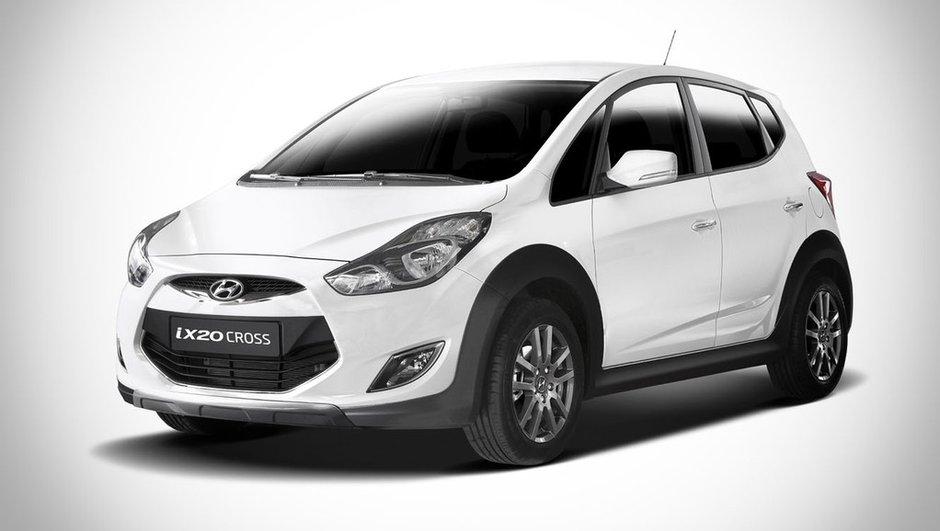 La Hyundai ix20 s'offre un look baroudeur