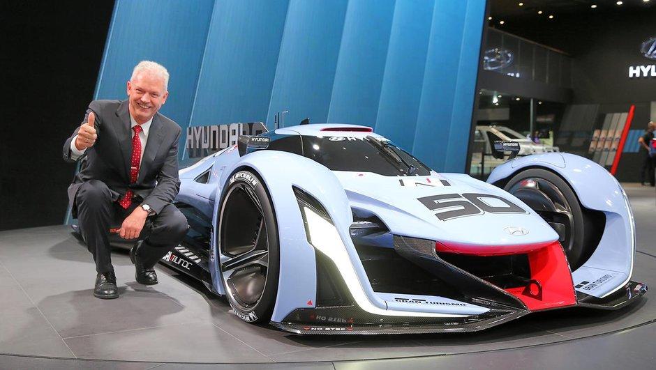 Salon de Francfort 2015 : le concept Hyundai N 2025 Vision GT ouvre la page sport