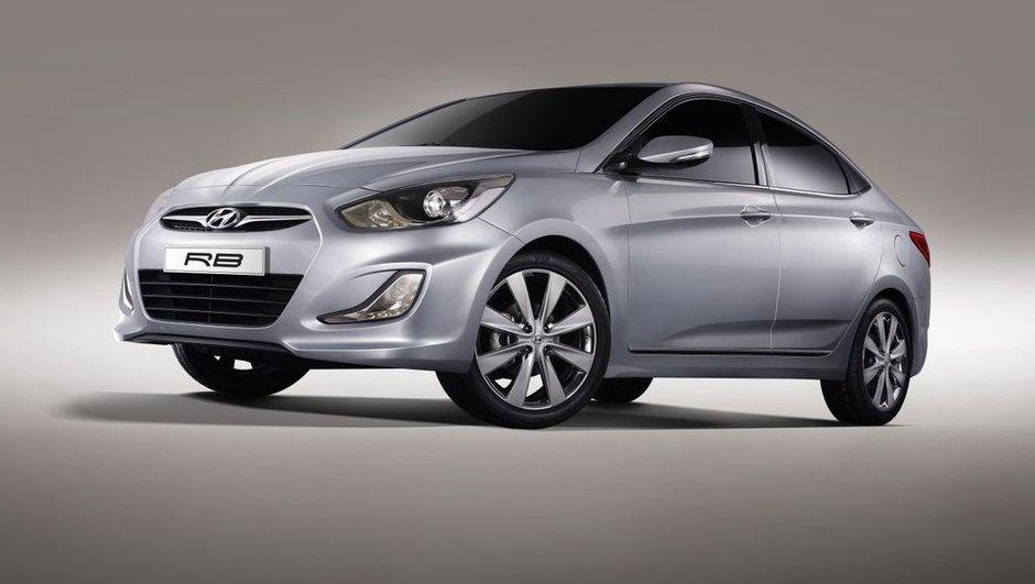 Salon de Moscou 2010 : Hyundai RB Concept ou l'Accent européenne