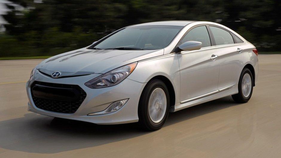 Hyundai Sonata Hybrid : voici la version de série