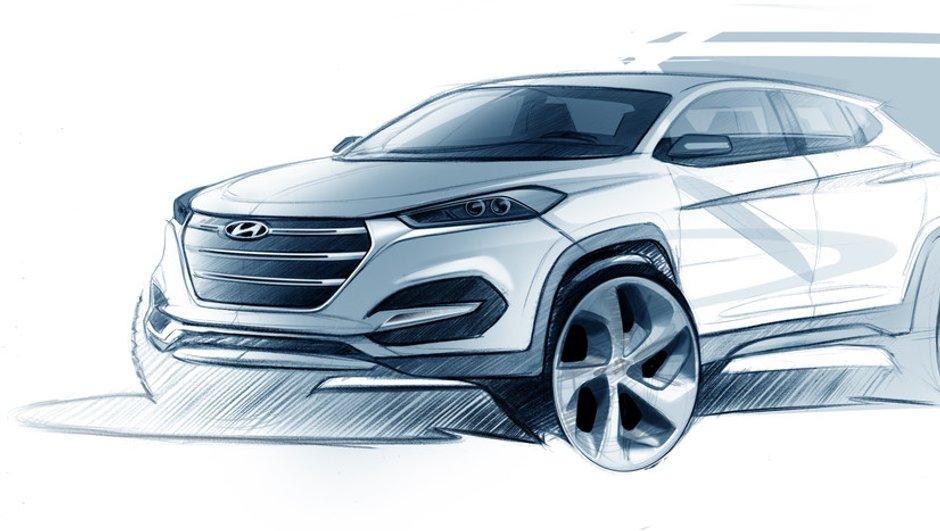 Hyundai Tucson 2015 : le remplaçant de l'ix35 se dessine