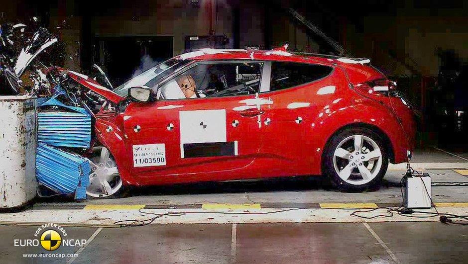 Crash-test EuroNCAP : derniers résultats avec 12 nouveautés