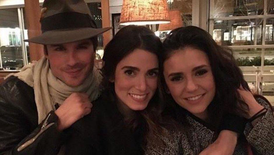 Vampire Diaries : Le message d'amour d'Ian Somerhalder pour ses retrouvailles avec Nina Dobrev