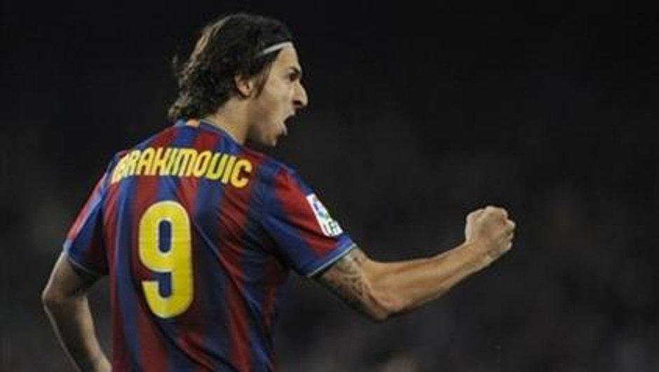 Transferts FC Barcelone : Zlatan Ibrahimovic d'accord avec le Milan AC