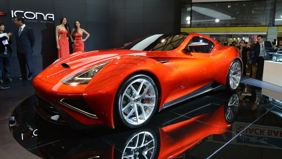Salon de Shanghai 2013 : Icona Vulcano Concept, essai transformé