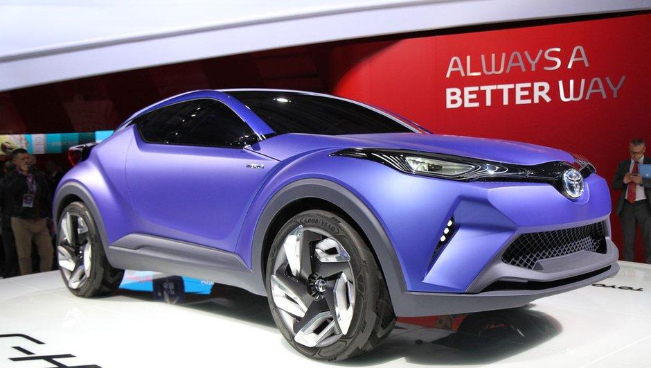 Mondial de l'Automobile 2014 : Toyota C-HR Concept, le crossover en marche