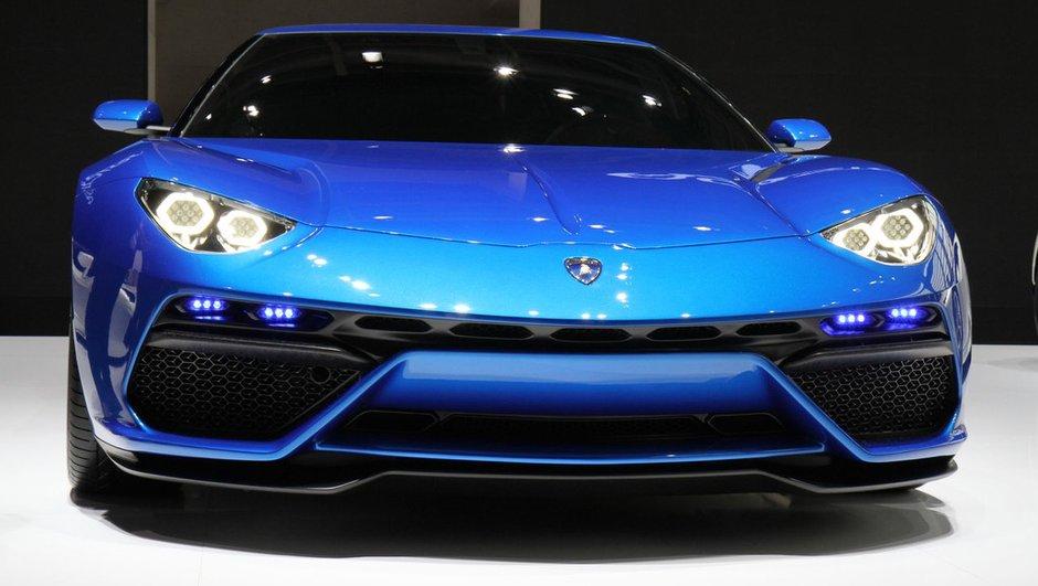 Mondial de l'Automobile 2014 : Lamborghini Asterion, design assagi mais puissance folle