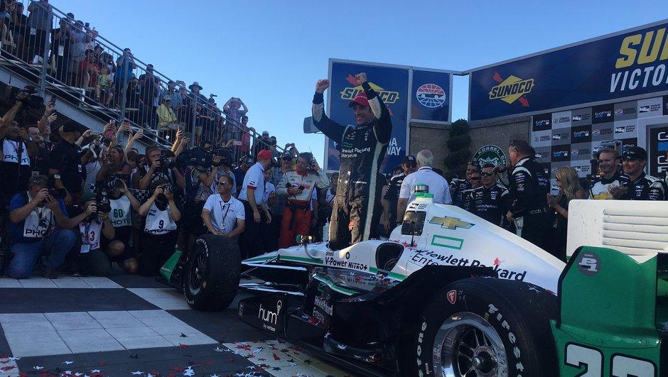 Indycar 2016 – Simon Pagenaud : « La victoire ne pouvait pas m'échapper »