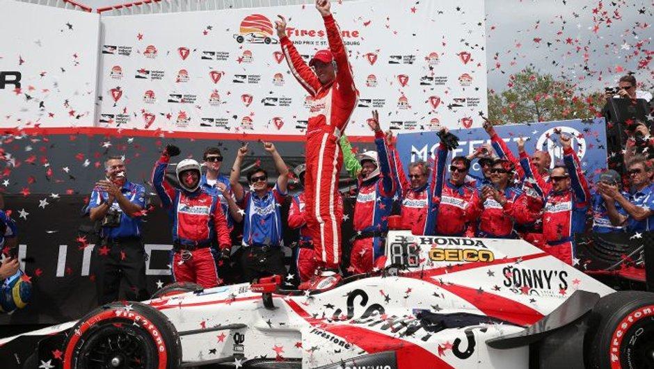 Bourdais et Pagenaud signent un doublé historique en Indycar !
