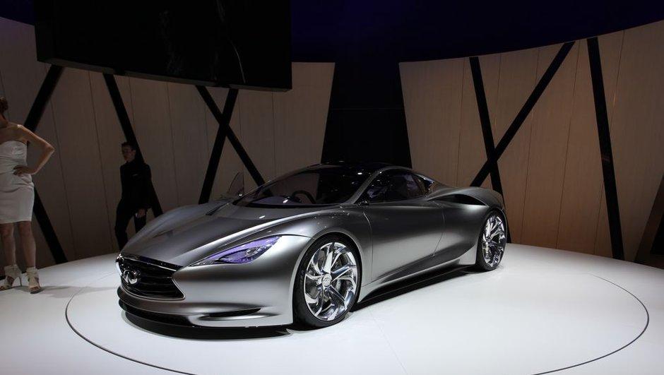 Salon de Genève 2012 : Infiniti Emerg-E Concept, le futur est électrique !