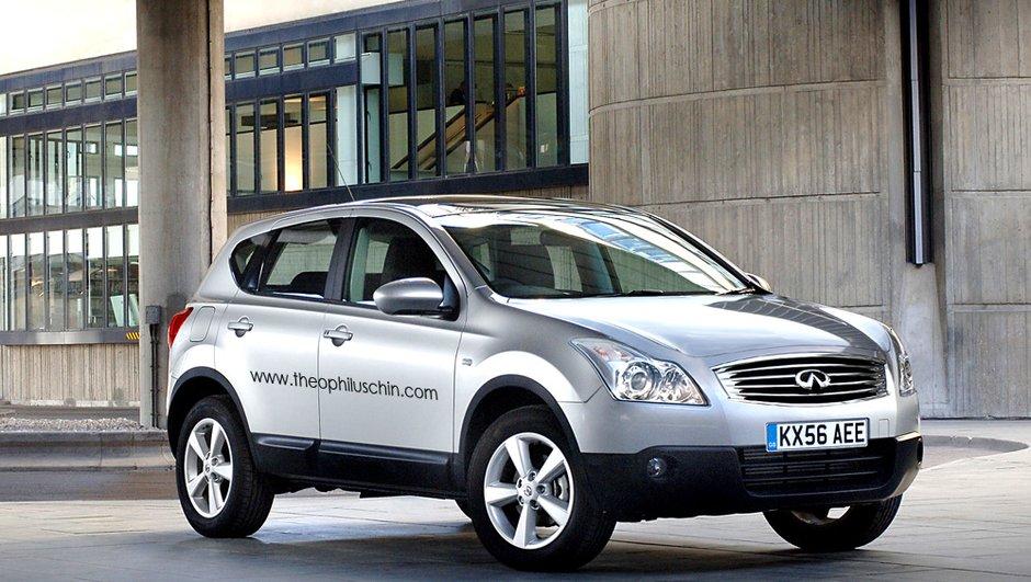 Infiniti JX : un crossover luxueux dérivé du Nissan Qashqai ?