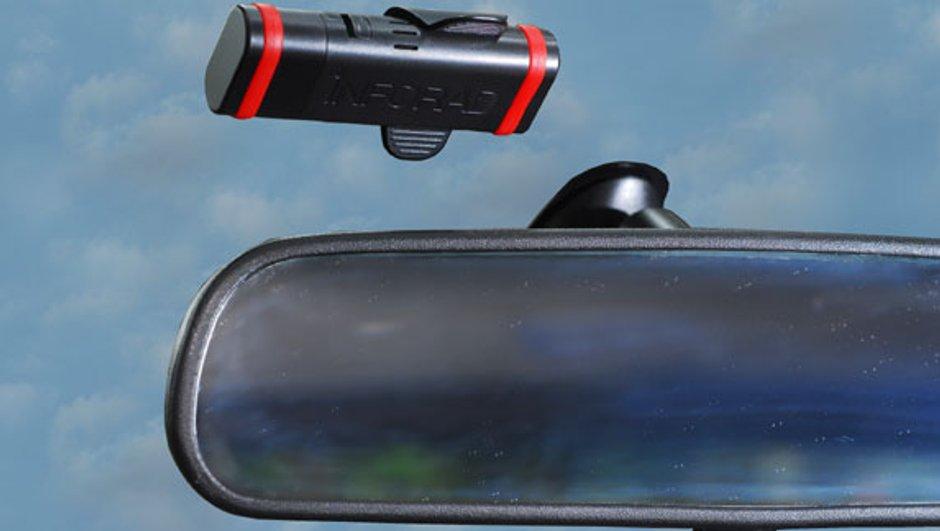 INFORAD K1 : un avertisseur de radars de 25g