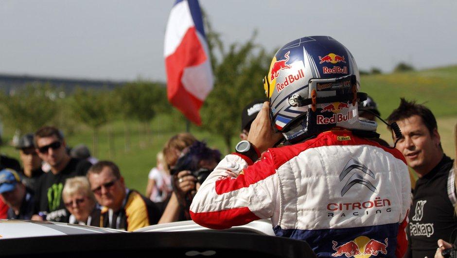 Rallye d'Alsace : Loeb plus rapide au shakedown