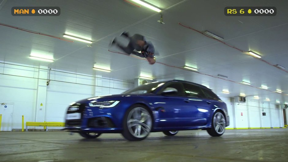 Vidéo : Audi RS6 Avant et la bataille de paintball