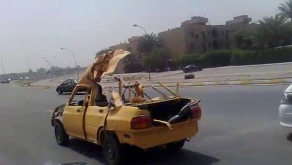 Insolite : le nouveau cabriolet venu d'Irak ?